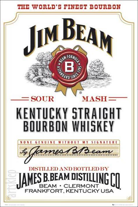 Jim Beam Label Template