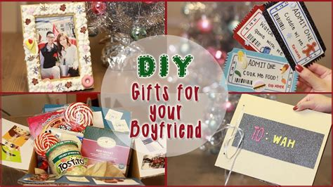small christmas gifts for boyfriend diy 5 gift ideas for your boyfriend ilikeweylie
