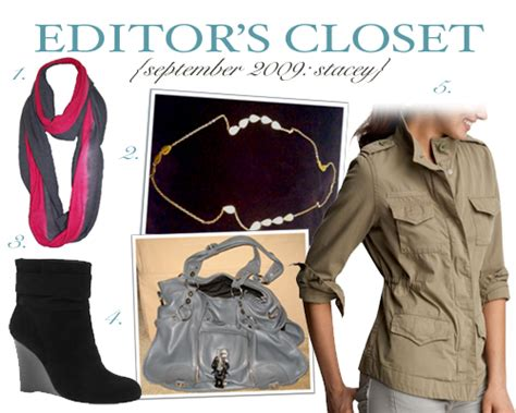 Editor Closet by Editor S Closet September 2009 The Daily Obsession