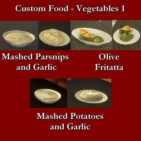 Custom Food mod the sims custom food vegetables 1