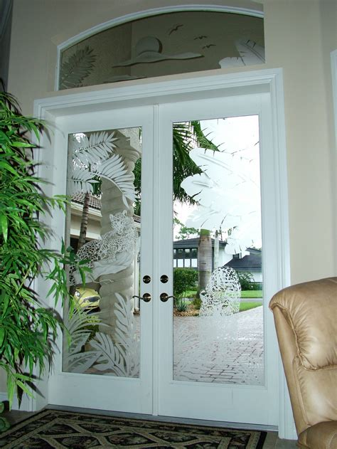 custom door glass glass designs custom etched glass door inserts
