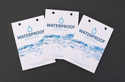 shower genius waterproof notepad