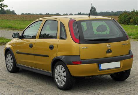 Opel Corsa C by File Opel Corsa C 1 2 Elegance Rear 20100912 Jpg