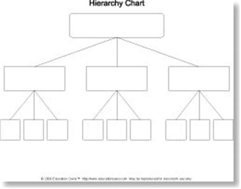 graphic hierarchy chart graphic organizer for definition essay