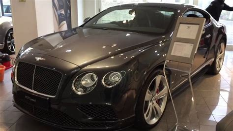 bentley continental interior 2017 2017 bentley continental gt speed exterior and interior