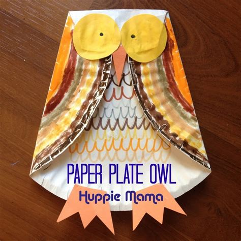Ripped Paper Owl Rockabye Butterfly Paper Owls - ink glue ink and glue