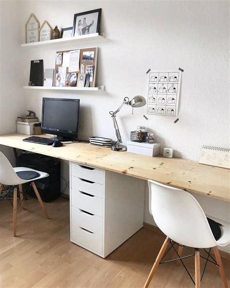 ikea arbeitszimmer schreibtisch schreibtisch diy schreibtische wohnideen