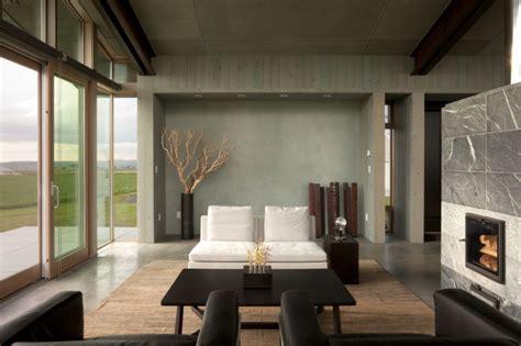 contemporary house interior design dise 241 o de moderna casa peque 241 a con grandes ventanas