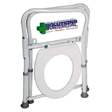 commode toilet seat chair frame toilet folding seat chair frame adjustable height
