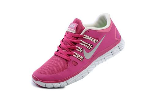 nike free 5 0 womens bright pink white running shoes