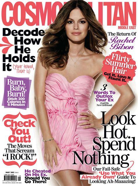 Rachel In Quot Cosmopolitan Quot Magazine Middle East May 2012