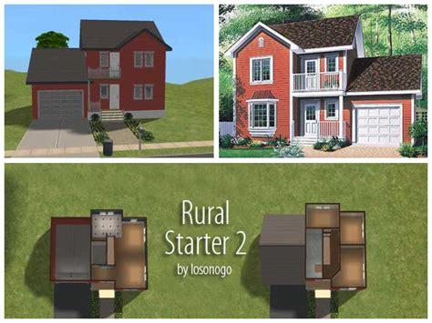 Sims 3 Starter House Plans Mod The Sims 3 Rural Starter Homes