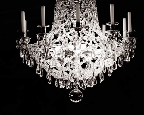 Black And White Chandelier Bedding Decor Black And White Photography Chandelier