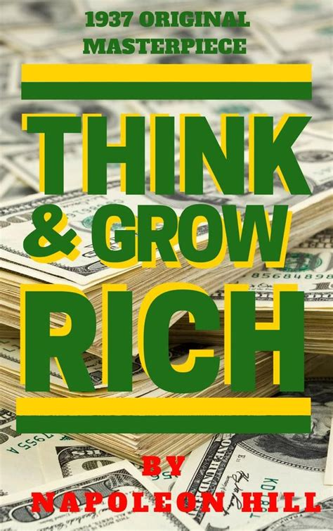 Think And Grow Rich Napoleon Hill Ebook E Book ebook think and grow rich 1937 edition di n lafeltrinelli
