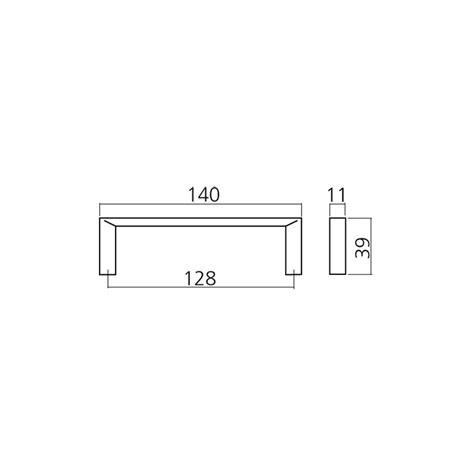 applique bois 3779 poign 233 e de meuble chrom 233 plat