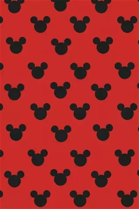 background pattern mickey background black mickey mouse red wallpaper image