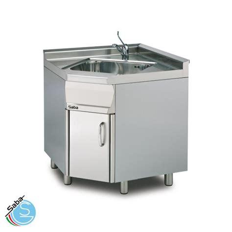 lavello cucina 60 cm lavello ad angolo su mobile profondit 224 60 cm saba