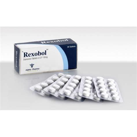 rexobol 50tabs 10mg stanozolol by alpha pharma