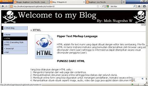 membuat web sederhana menggunakan php membuat blog sederhana menggunakan php nugikkool live