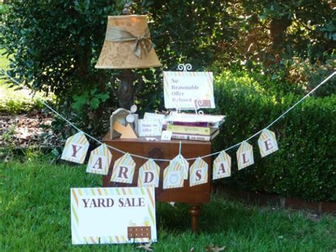 top tips for throwing a successful yard sale hgtv