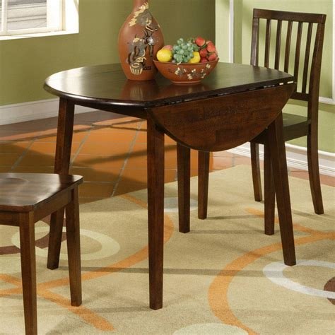 small dining room table drop leaf dining table for small spaces 09