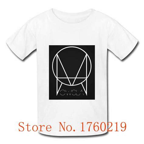 Skrillex Logo T Shirt owsla skrillex label logo t shirts o neck sleeve