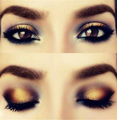Eyeshadow Golden top 10 trendy gold makeup ideas for 2014