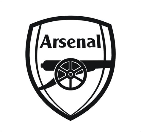arsenal logo arsenal logo black and white google search glass art