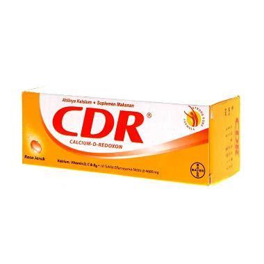 Suplemen Cdr Jual Bayer Cdr Calcium D Redoxon Suplemen 10 Tablet