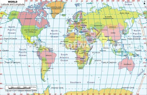 Usa Latitude Map by Strange Maps Of The World And Usa World Longitude
