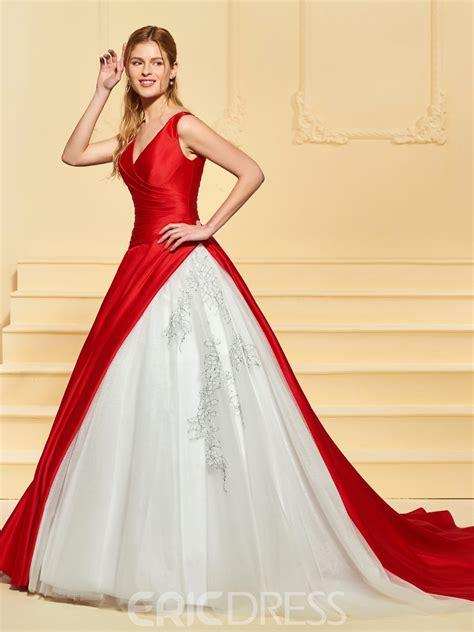 wedding dresses color ericdress gown color wedding dress 13190465