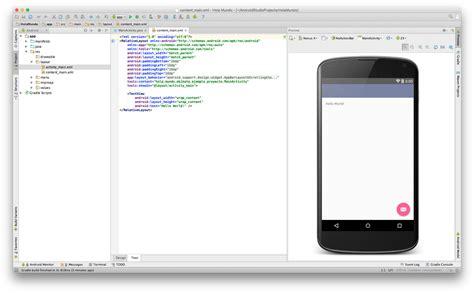 hola android hola mundo en android studio ekiketa