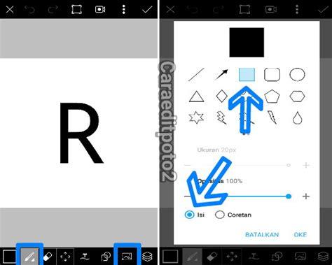membuat logo 3d cara mudah membuat logo 3d di picsart android