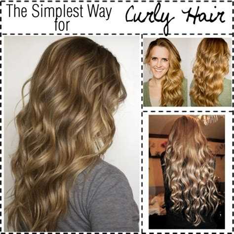 hairstyles without curls 15 tutorials for curls without heat pretty designs