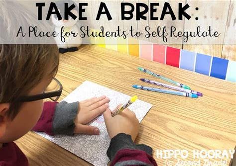 A Place Take 6 Take A A Place For Students To Self Regulate Hippo Hooray For Second Grade Bloglovin