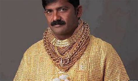 solid gold datta phuge spends 235 000 on solid gold shirt huffpost