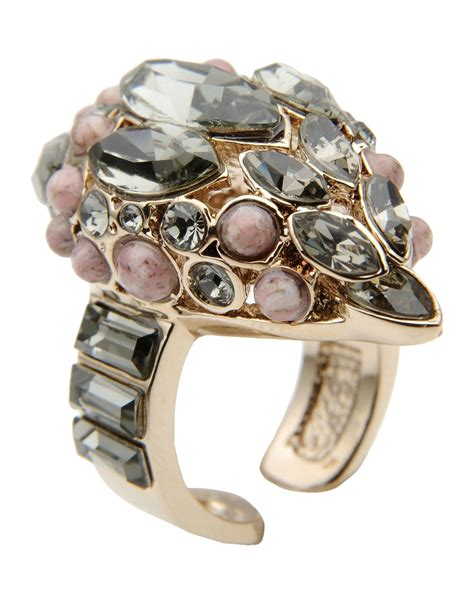 Cavalli Jewelry roberto cavalli ring in pink lyst