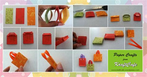 Paper Crafts On - simple and easy paper bag kraftcafe