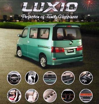 Mini Baru Dan Bekas harga mobil daihatsu luxio baru dan bekas 2015 daftar harga tarif