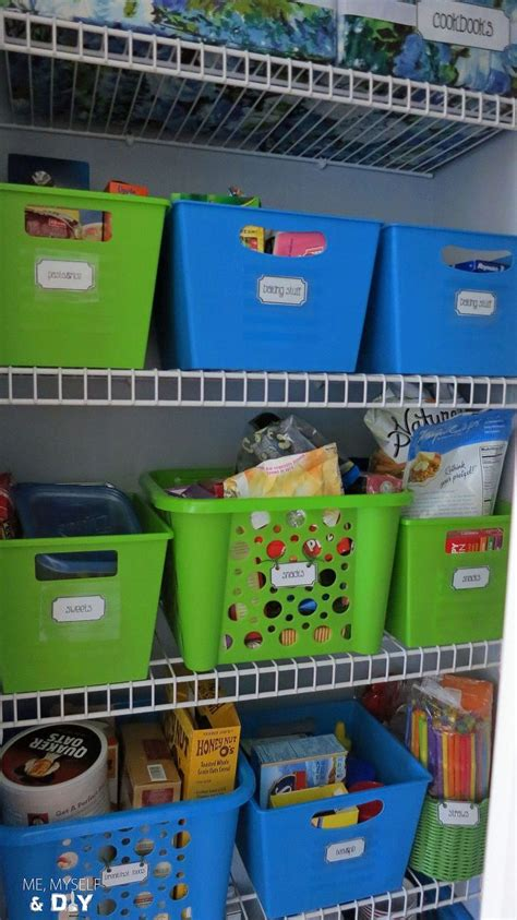 Hometalk   Dollar Store Pantry Organization