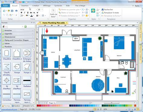 3d Floor Plans Architectural Floor Plans logiciel de plan de plomberie et de tuyauterie
