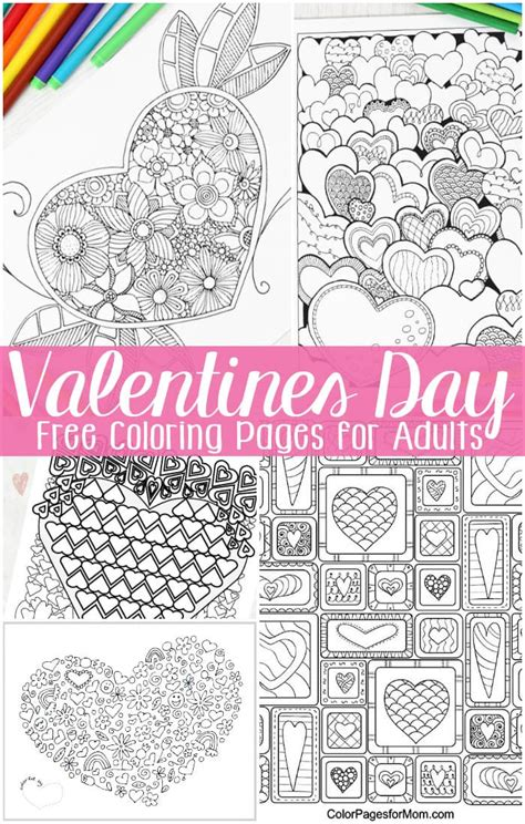 coloring pages for adults s day free valentines day coloring pages for adults easy peasy