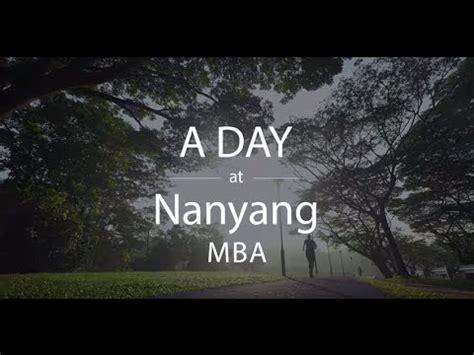 Nanyang Mba by A Day At Nanyang Mba