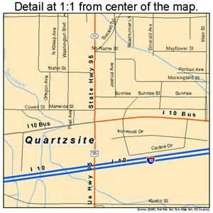quartzsite arizona map 0458010