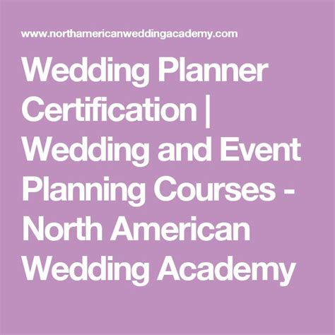 wedding planner courses wedding planner courses