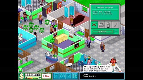 theme hospital list of levels let s play theme hospital ep 7 level 4 pt 2