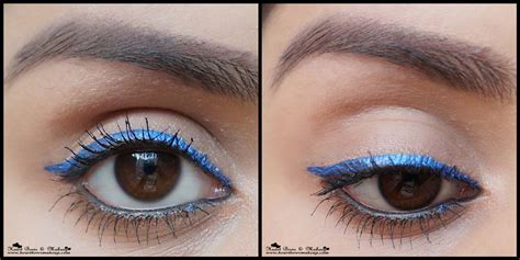 City Color Glimmer Glam Glitter Gel Eyeshadow lakme shimmer eyeliner glimmer blue review swatches eye makeup bows makeup