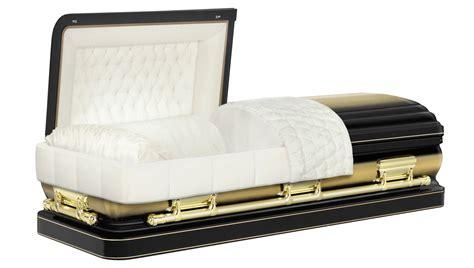 half couch casket metal caskets joannides funerals