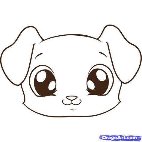 how to draw puppies how to draw a puppy step by step pets animals free drawing tutorial
