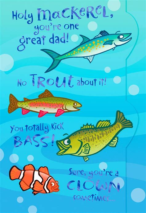 No Fish Story Father's Day Card   Greeting Cards   Hallmark
